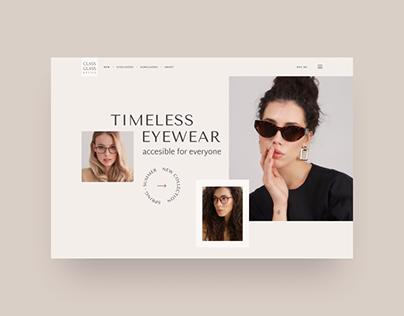 Glasses store concept