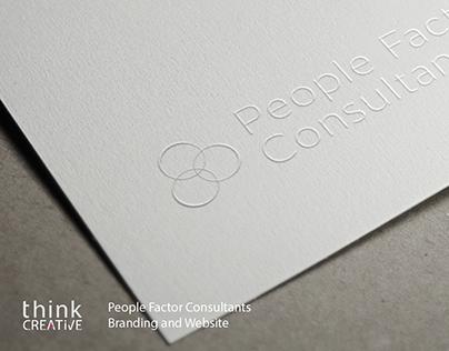 People Factor Consultants Branding and Website