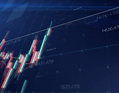 Stock Market Trading mock up template