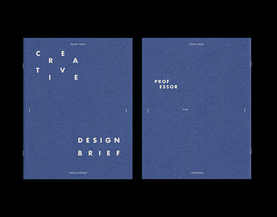 Thesis Creative Brief