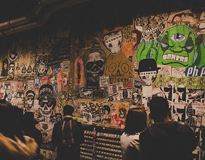 Seattle, WA: Gum Wall & Graffiti