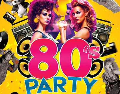 80s Party   Denizen Hall