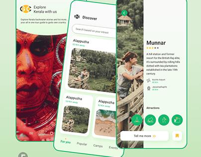 UX design Concept for Kerala Tourism by Artisans Media