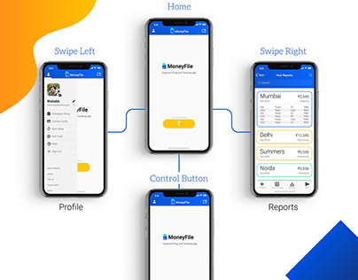 MoneyFile | Expense Filing+Tracking app | UI+UX