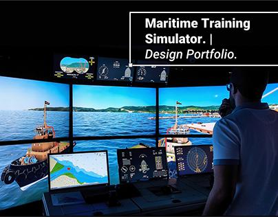3D | Maritime Simulator | Design Portfolio