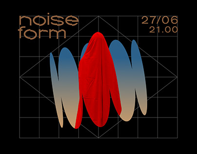 Noise Form - visual concept