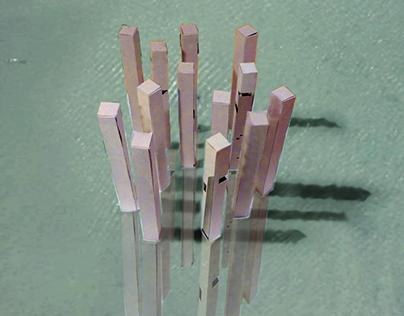 Isla artificial en Venecia