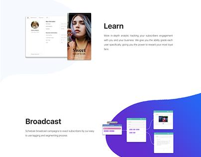 UX UI Landing Page