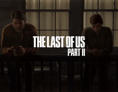The Last of Us Part II UI/UX Website concept