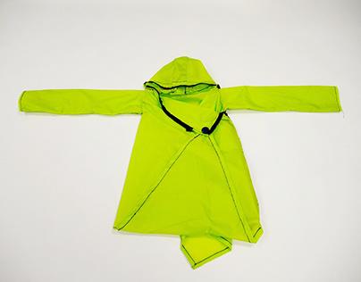 Prototype for Convertible Raincoat