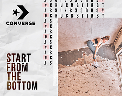 Converse - Start From The Bottom Campaign Social Media