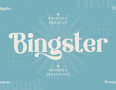 Bringster - Modern Premium Serif Font