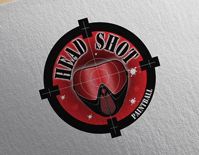 Headshot Paintball - Logo design 2015