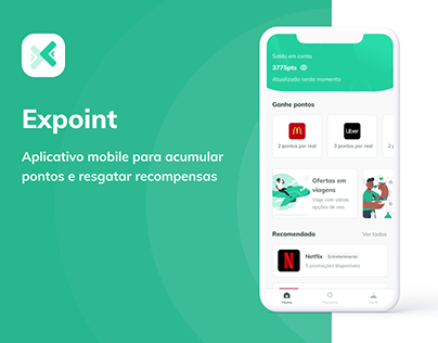 Expoint - Mobile App | UX/UI