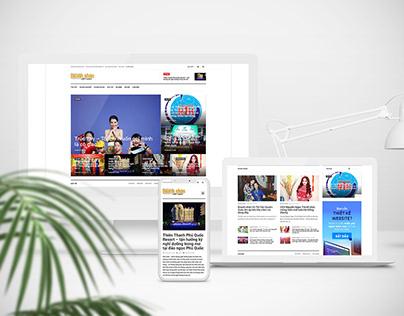 Tu van thiet ke website tin tuc chuyen nghiep