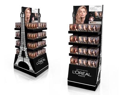 L'Oréal display / Дисплей для бренда Лореаль