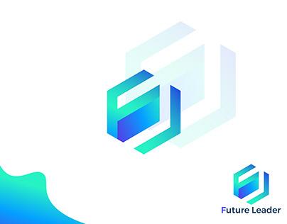Future Leader logo | FL letter logo | Branding