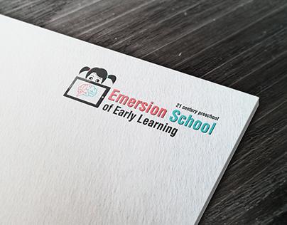 Логотип для американской подготовительной школы