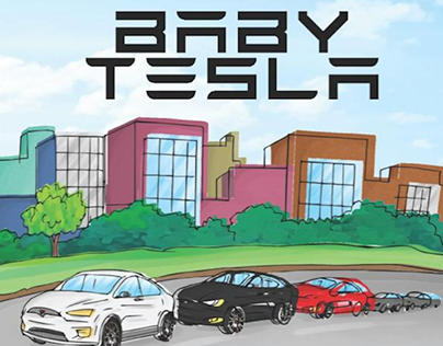 Baby Tesla by Zeeshan Hoodbhoy