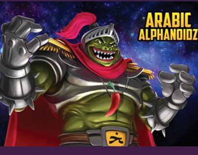 Arabic Alphanoidz