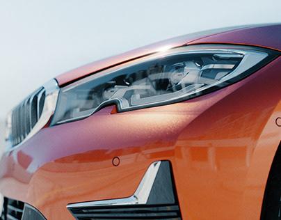 BMW Sunset Orange   CGI