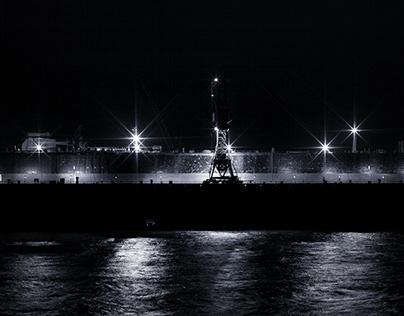 Lichter in den Docks