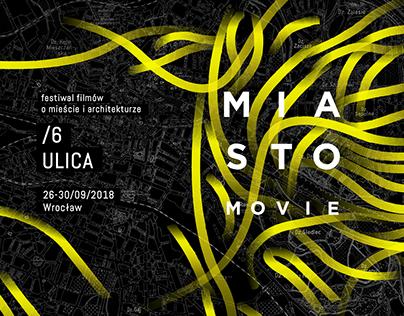 MIASTOmovie - visual identity and promotional materials
