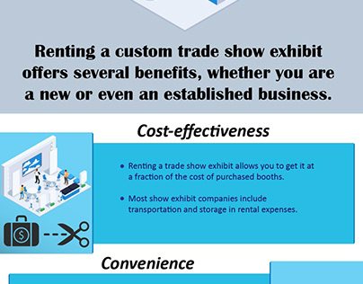 The Benefits of Renting a Custom Trade Show Exhibits!