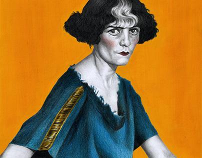 Portrait of Luisa Casati