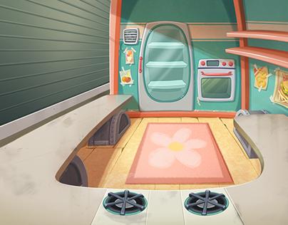 Disney Interactive / Kitchen Scramble - Bgs - P.Burger