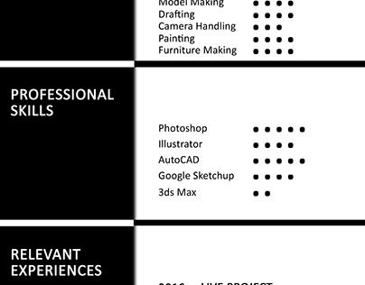 CV INTERIOR DESIGNER
