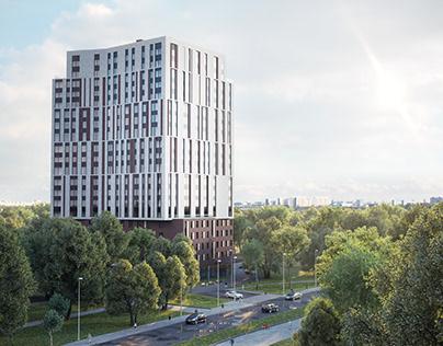 Apartment building. Sokolniki