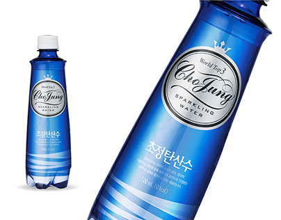 CHOJUNG SPARKLING WATER Brand Revitalization