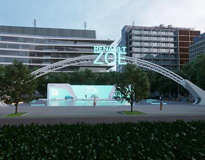 Renault ZOE Launch Virtual Event Design