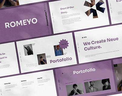 Romeyo Presentation