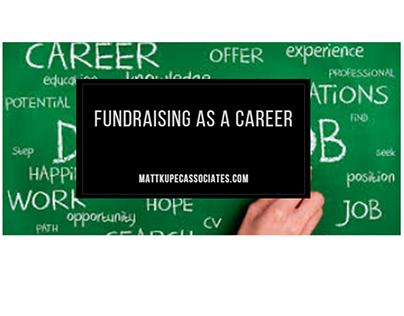 Matt Kupec: Why I Love Fundraising as a Career