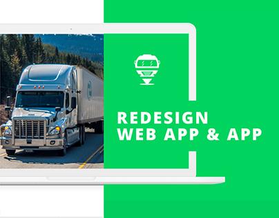 MiCarga Web App & App (UI)