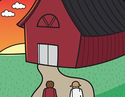 The Farm - 4 Panel Comic