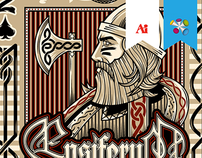 Official Ensiferum - Highroller Shirt Design