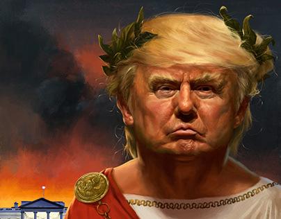 Trump as Nero