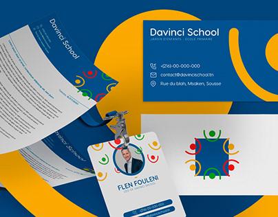 """Davinci"" Primary School Rebranding"