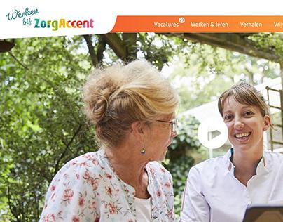 Website ZorgAccent