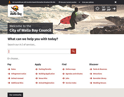 Ubacity - Council Websites