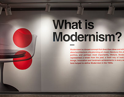 What is Modernism Exhibit