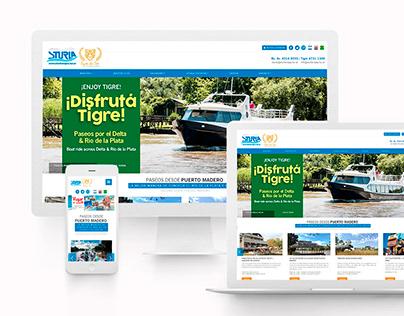 Diseño Página Viajes y Turismo