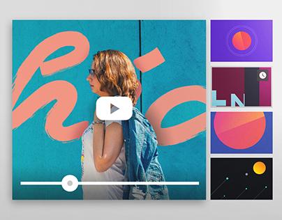 Dirección de arte para tu canal de YouTube