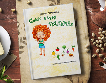 Illustrations for a Gabby children's book