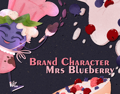 Brand Character Mrs Blueberry