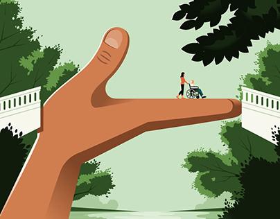Lending a hand to caregivers