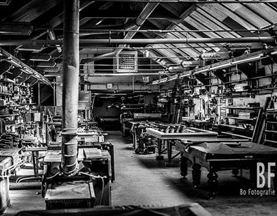 Wilhelmina Biljart Factory, Amsterdam